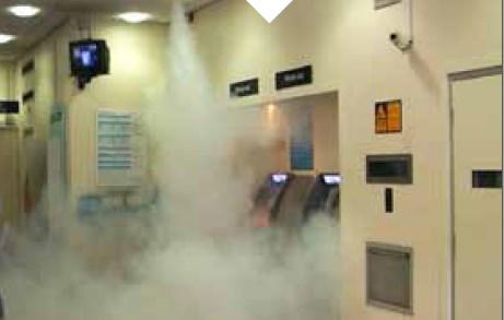 Termalne kamere FLIR in dimna zavesa